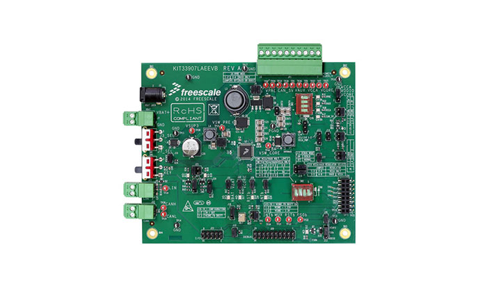Evaluation kit - MC33907, Safe SBC with Buck, Boost, LIN thumbnail
