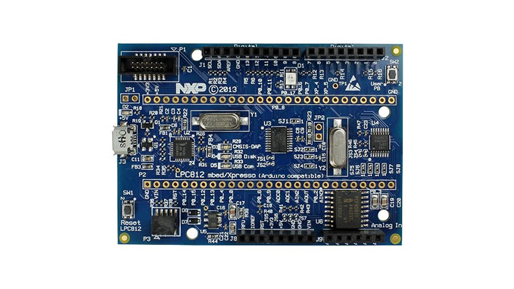 LPCXpresso812-MAX Board for LPC81x family MCUs thumbnail