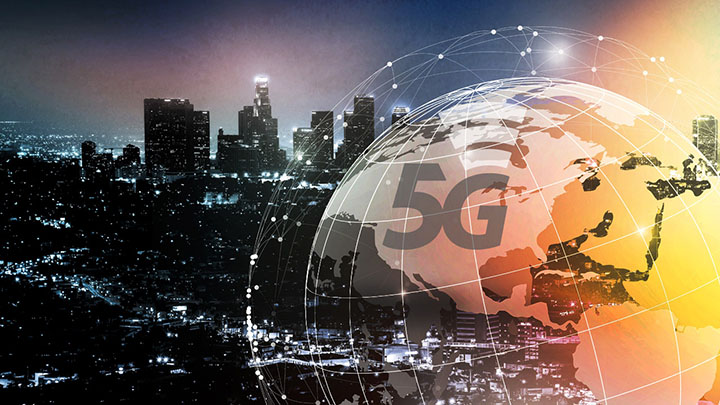 5G Wireless Infrastructure Image