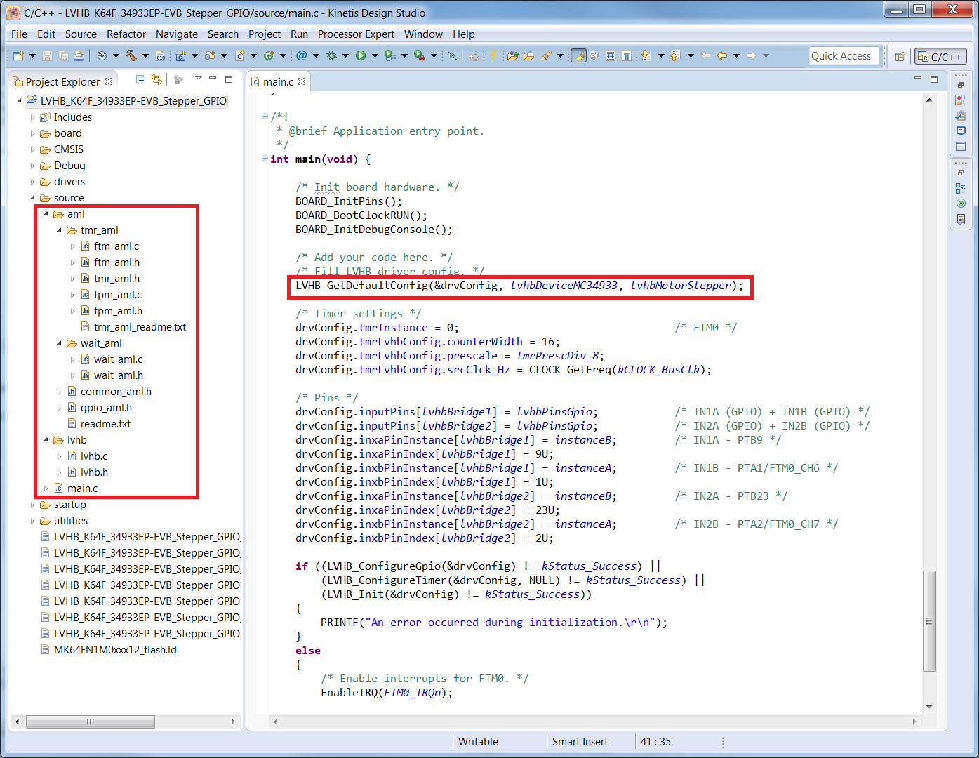 Embedded SW: Low Voltage H-Bridge Software Driver built on SDK thumbnail