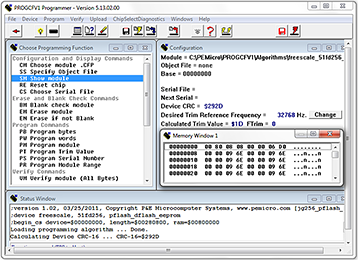 ColdFire In-Circuit Flash Programming Software thumbnail