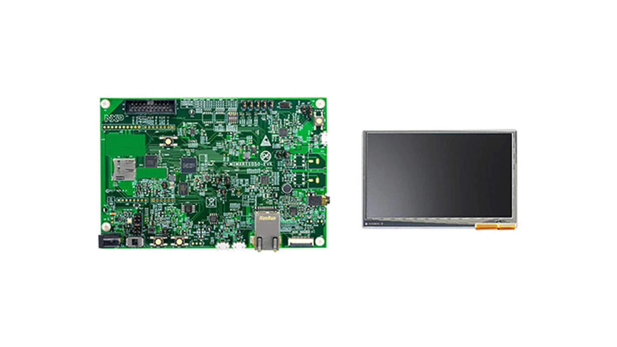 Imx Rt1050 Mcu Applications Crossover Processor Arm Cortex M7 Computer Ram Chips With Binary Code A Circuit Board Memory 43 Lcd Panel Thumbnail