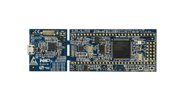 LPCXpresso board for LPC1769 with CMSIS DAP probe thumbnail