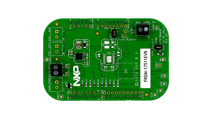 Freedom Expansion Board, MPC17511, H-Bridge, Brushed DC Motor Driver, 2.0-6.8 V, 1 A thumbnail