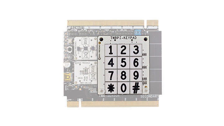 12-key Capacitive Touch Keypad Plug-In for the Tower System thumbnail
