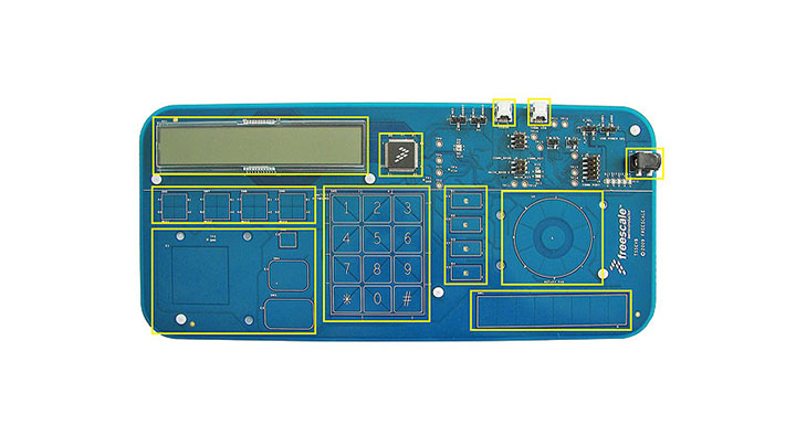 Touch-Sensing Software Evaluation Board thumbnail