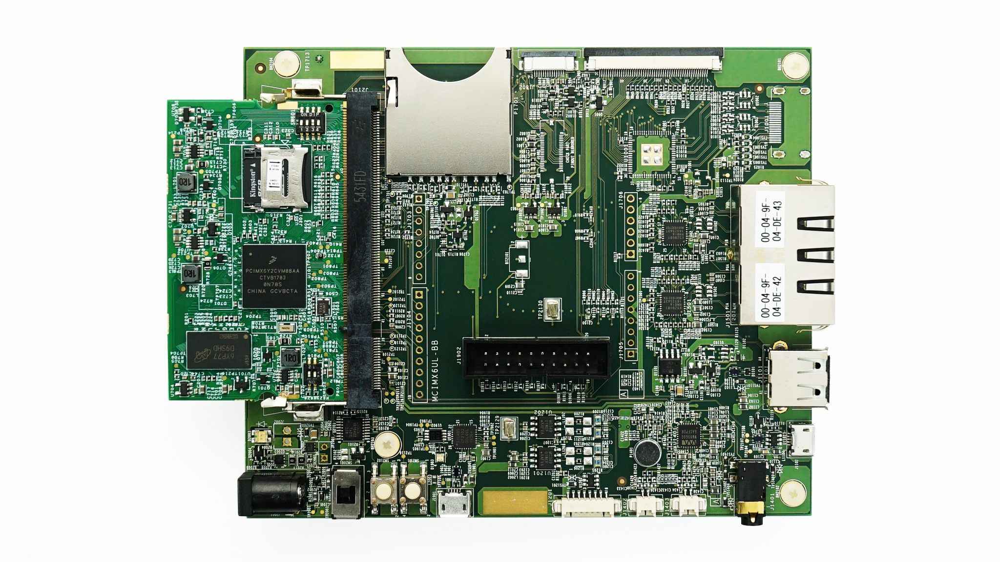 Evaluation kit for the i.MX 6ULL and 6ULZ Applications Processor thumbnail