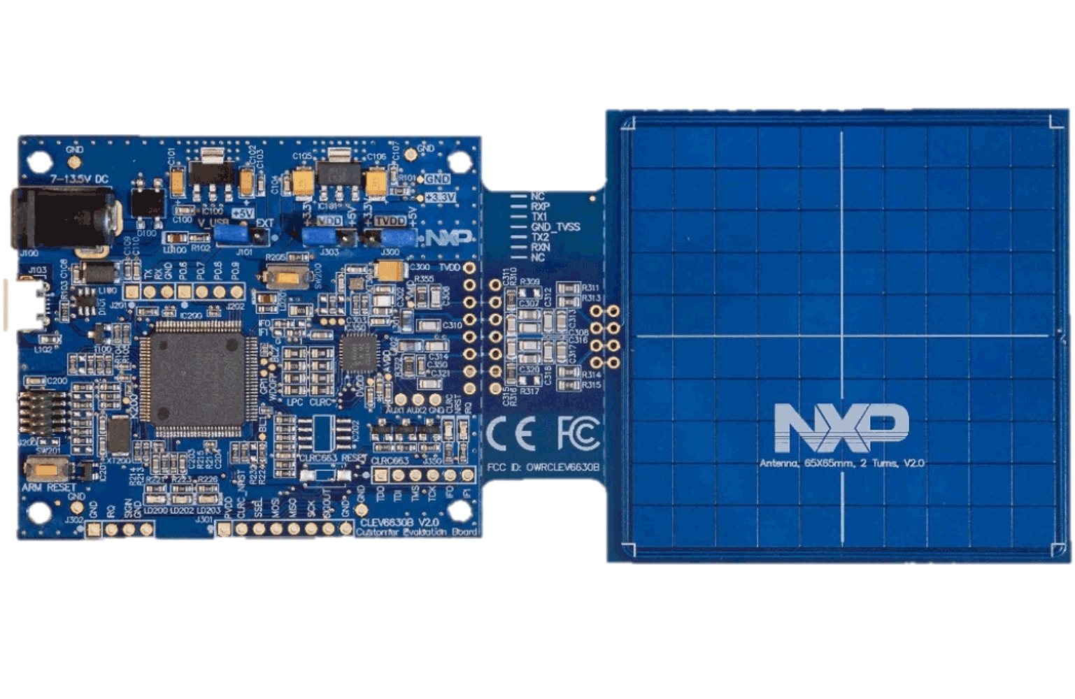 CLRC663 <i&gt;plus</i&gt; NFC Frontend Development Kit for Access Management Applications thumbnail