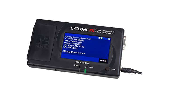 Cyclone-FX: In-Circuit, Stand-Alone Production Programmers thumbnail