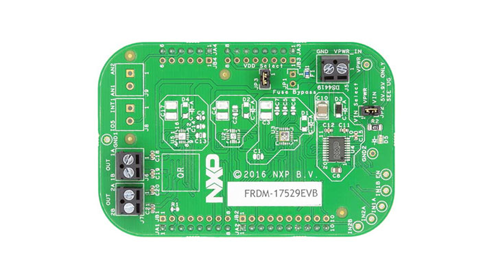 Freedom Expansion Board - MPC17529, Dual H-Bridge, Stepper Motor Driver, 2.0 V-8.6 V, 0.7 A thumbnail
