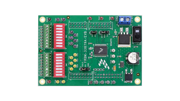 Evaluation Kit - 33879,Configurable Octal Serial Switch thumbnail
