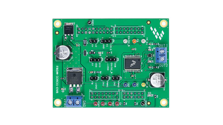 Freedom Expansion board for MC33931- Brushed DC Motor Driver, H-Bridge, 11 kHz thumbnail