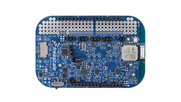 Freedom Development Platform for NXP<sup&gt;&amp;#174;</sup&gt; Sensors with Bluetooth&amp;#174;.  thumbnail
