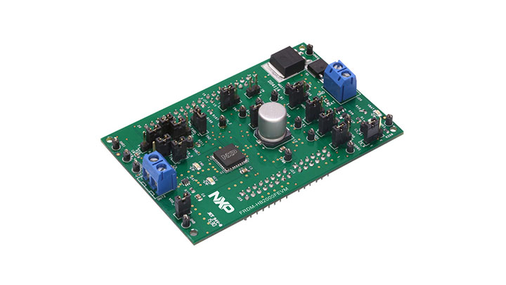 FRDM-HB2000FEVM: Freedom Platform for MC33HB2000, HQFN32, 10 A H-Bridge, Programmable Brushed DC Motor Driver thumbnail