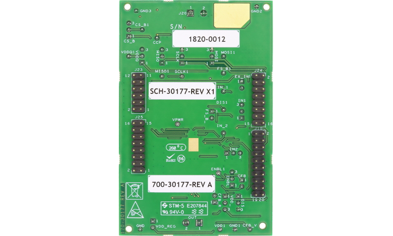 Freedom Kit for HB2002, Programmable Brushed DC Motor Control in QFN thumbnail