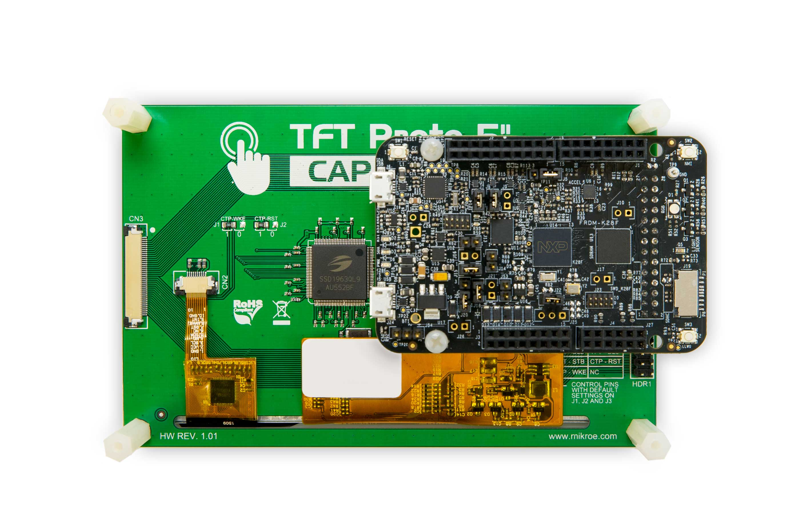 NXP<sup>&#174;</sup> Freedom Development Board for Kinetis<sup>&#174;</sup> K27 and K28 MCUs thumbnail