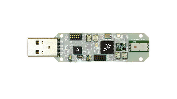 Packet Sniffer/USB Dongle Development Board for Kinetis KW0x thumbnail