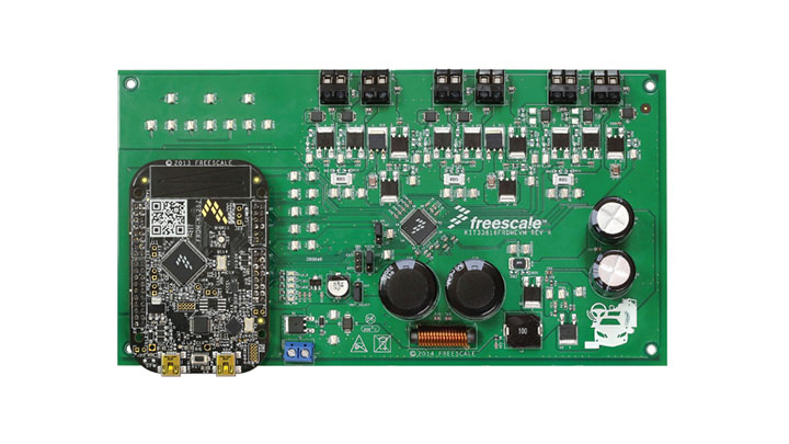 KIT33816FRDMEVM: Evaluation Kit - MC33816, SD6 Programmable Solenoid Controller with Freedom KL25Z thumbnail