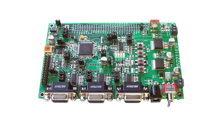 MCF52211 Evaluation Board thumbnail