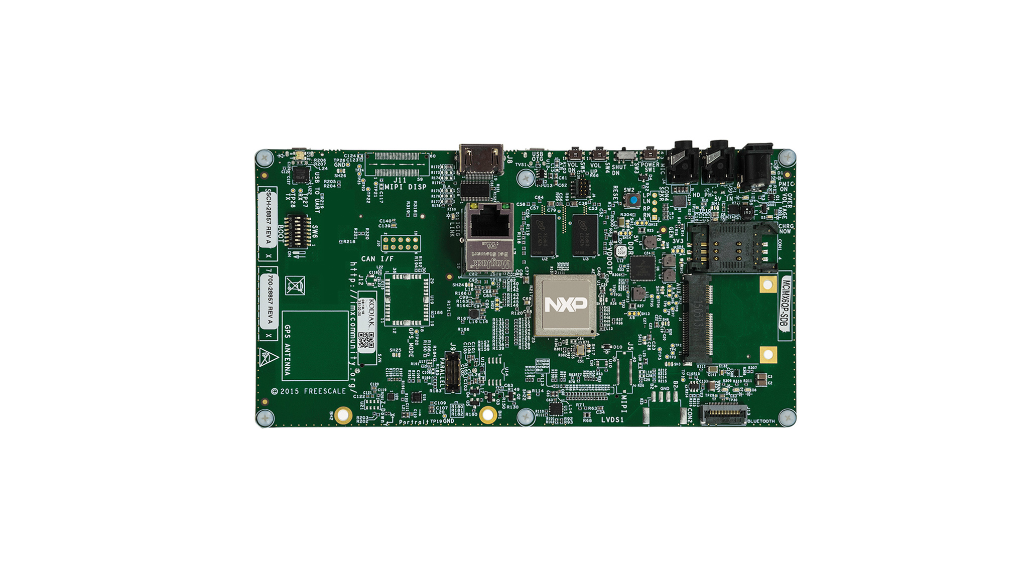 SABRE Board for Smart Devices Based on the i.MX 6Quad Applications Processors thumbnail
