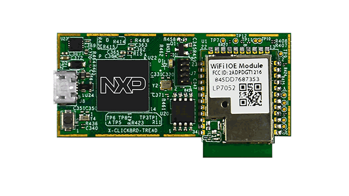 LPC54018 IoT Module for the LPC540xx family of MCUs thumbnail