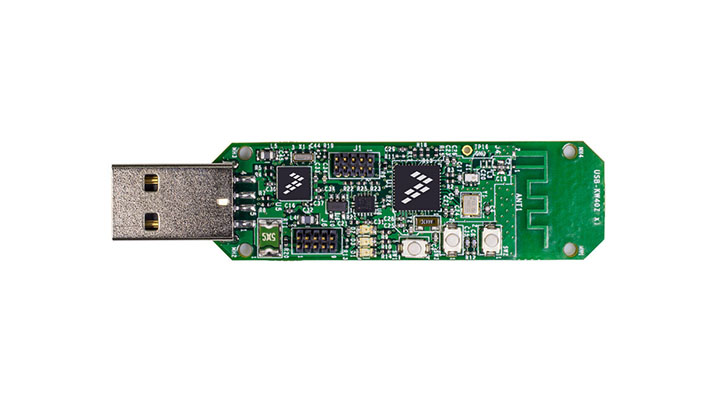 Bluetooth Low Energy/IEEE<sup>&#174;</sup> 802.15.4 Packet Sniffer USB Dongle for Kinetis<sup>&#174;</sup> KW40Z/30Z/20Z MCUs thumbnail