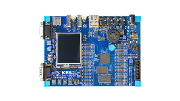 Keil MCB1857 Evaluation Board thumbnail