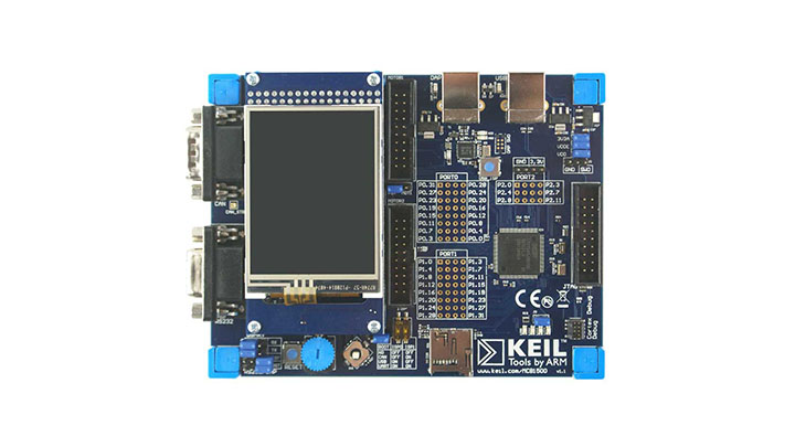 Keil MCB1549 Evaluation Board thumbnail