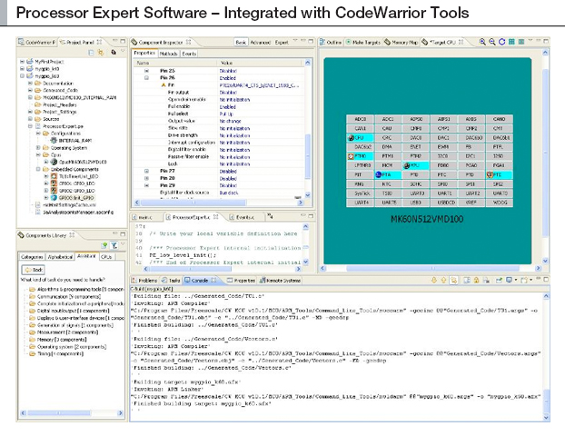 Processor Expert software - Integration with CodeWarrior tool thumbnail